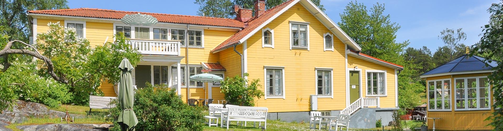 Exteriörbild Pensionat Solgården